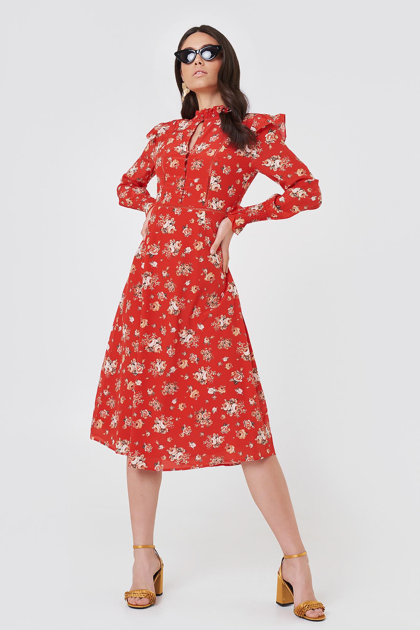 FWSS BODIL DRESS - RED