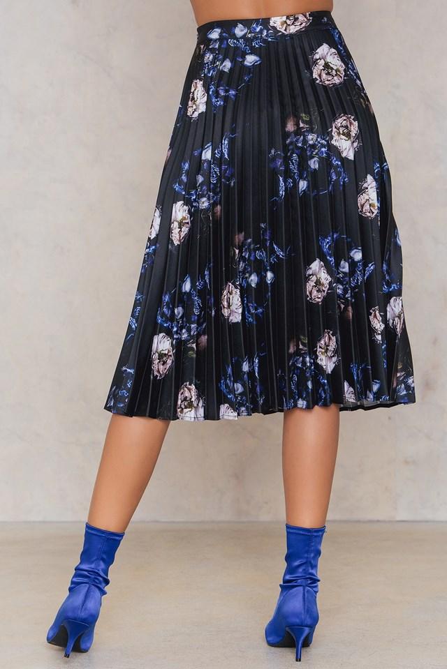 Heidi Skirt Hisdal Flower