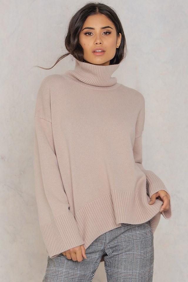 Julie Sweater Dusty Pink