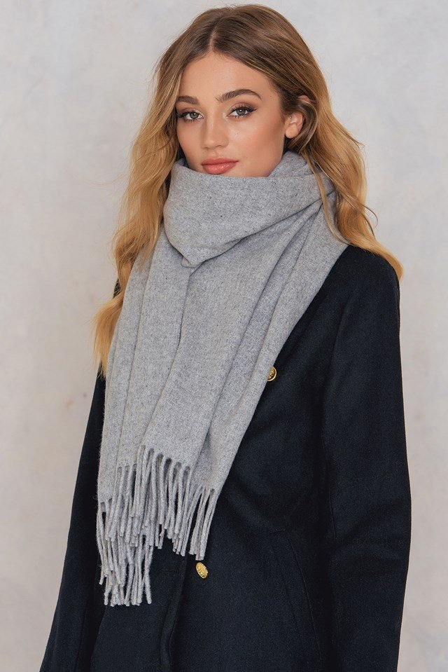 Lana Scarf Light Gray