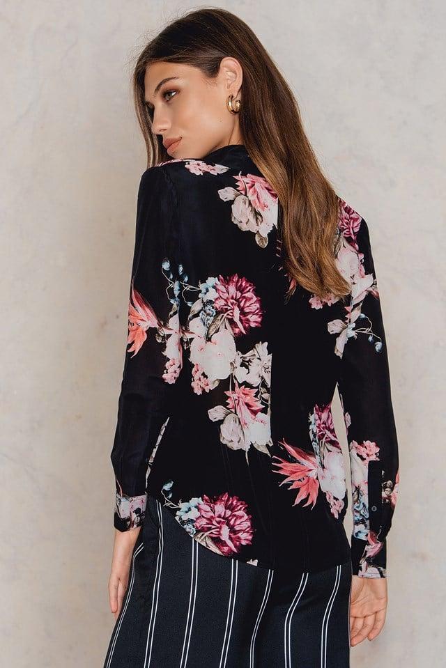 Left & Right Shirt Dartford Floral