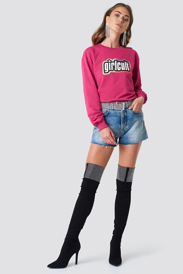 Girl Cult Sweatshirt Diva
