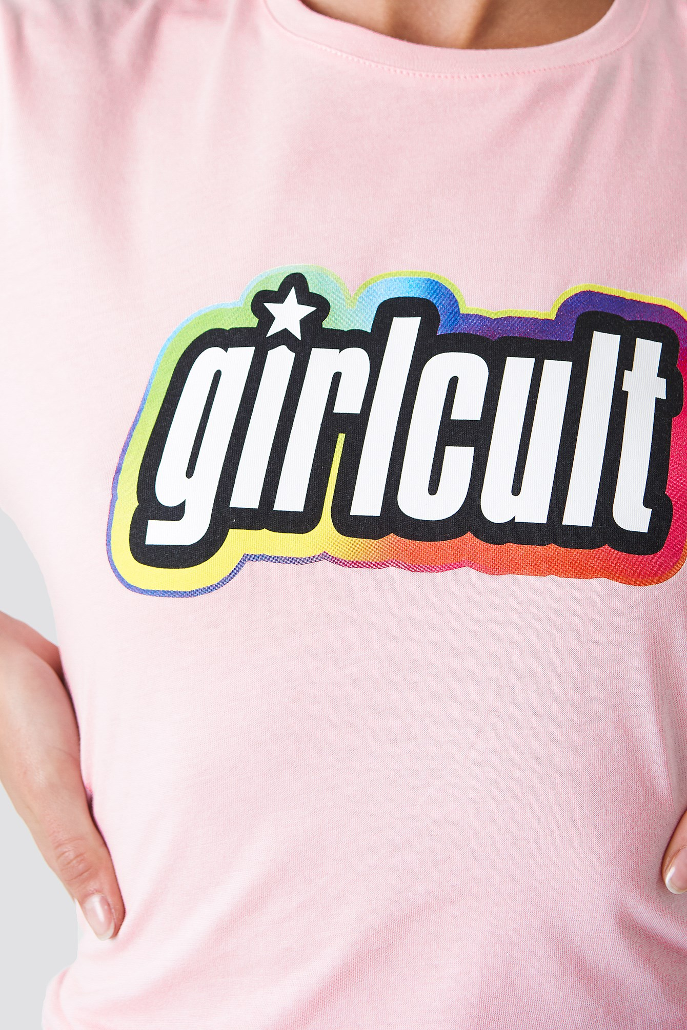 T-shirt Girl Cult NA-KD.COM