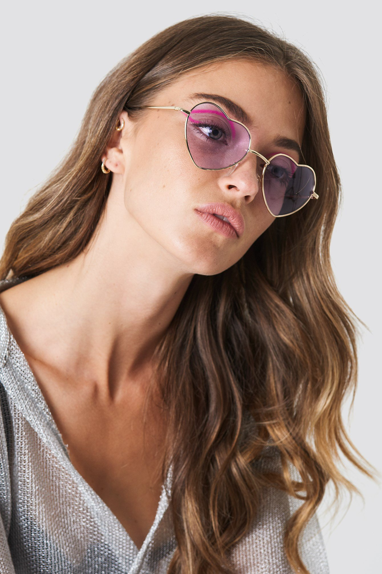 Heart Shape Sunglasses NA-KD.COM