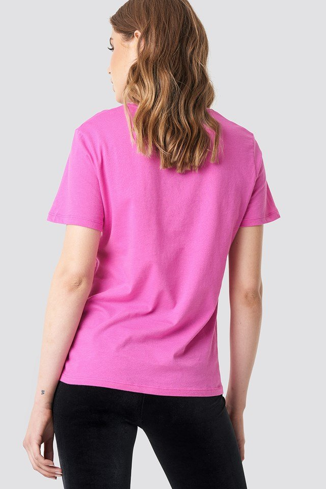 Oversized Girl Cult Tee Strong Pink