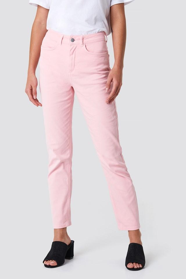 Pink Mom Jeans NA-KD.COM