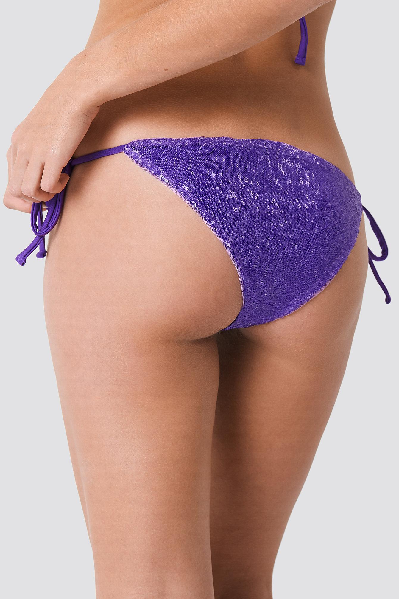 Sequin Bikini Bottom NA-KD.COM