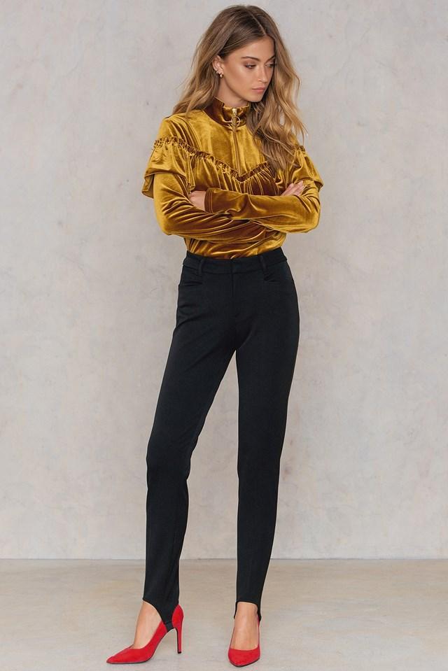 Cayenne Stirrup Pants Black