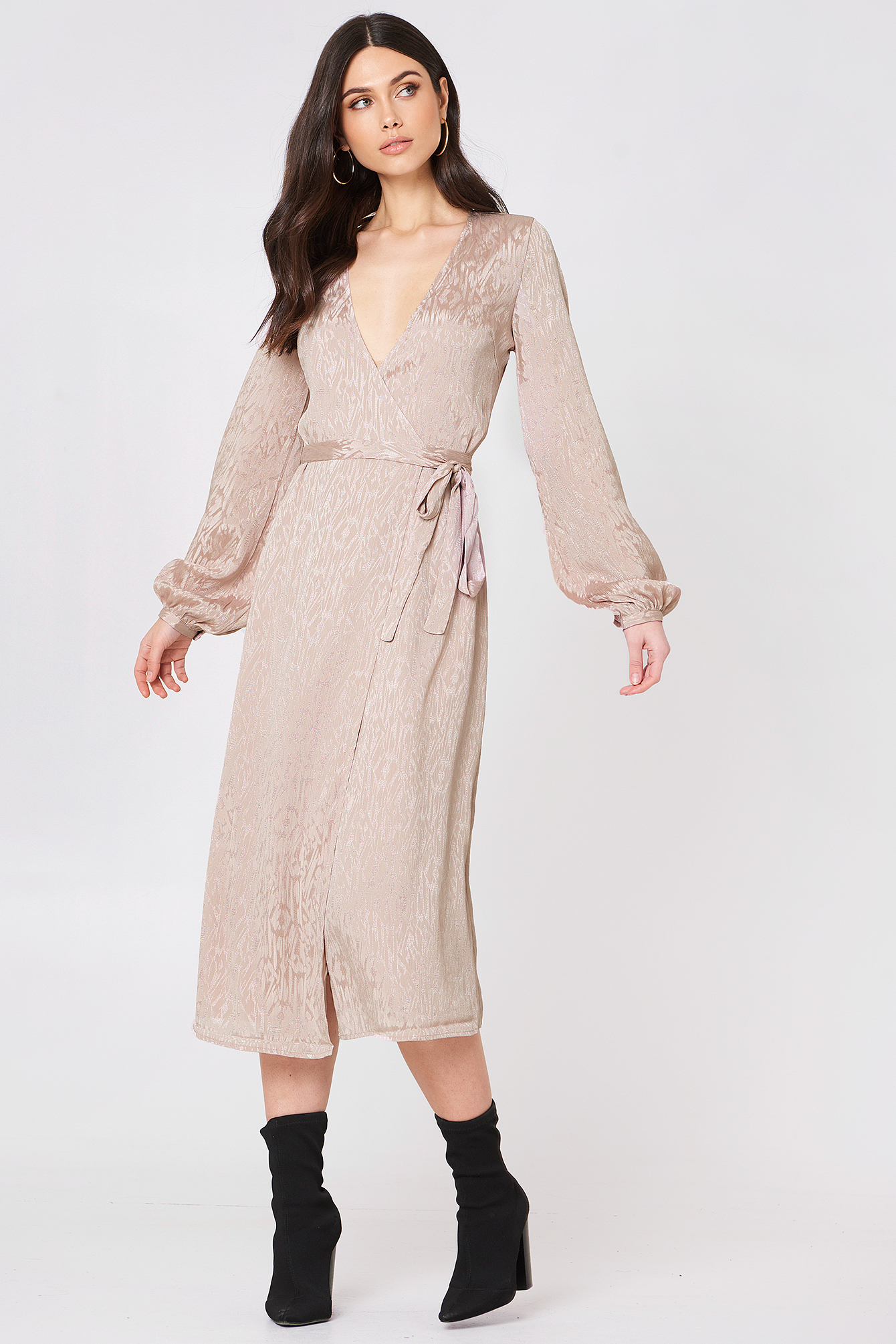 Cete Wrap Dress NA-KD.COM