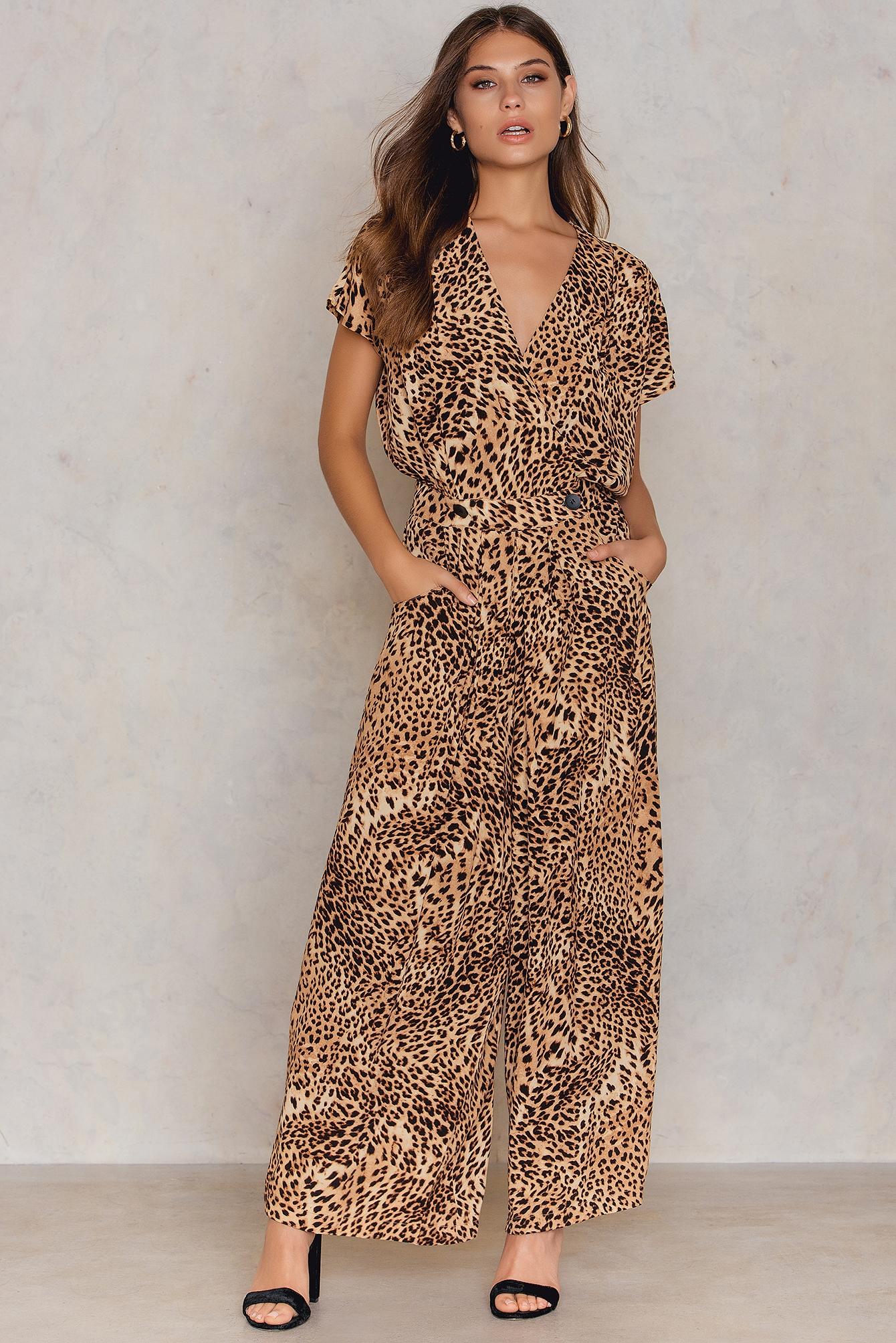 Gestuz Leopard Long Dress