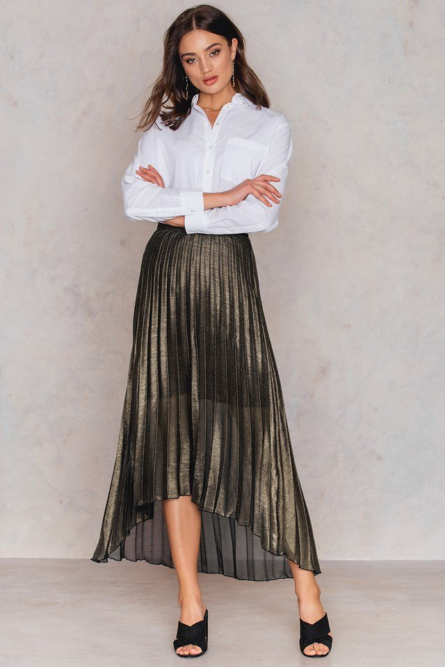 Felicity Long Skirt Gold