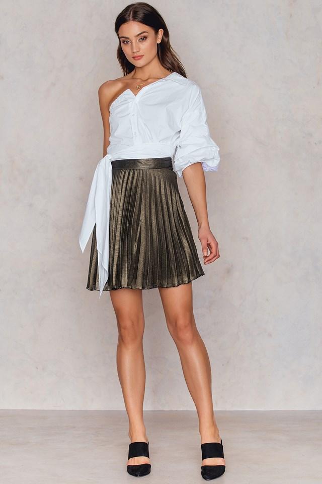 Felicity Skirt Gold
