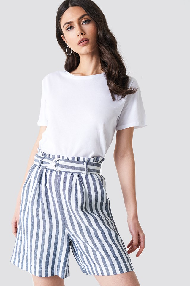 Hilde Shorts Bright White/Blue