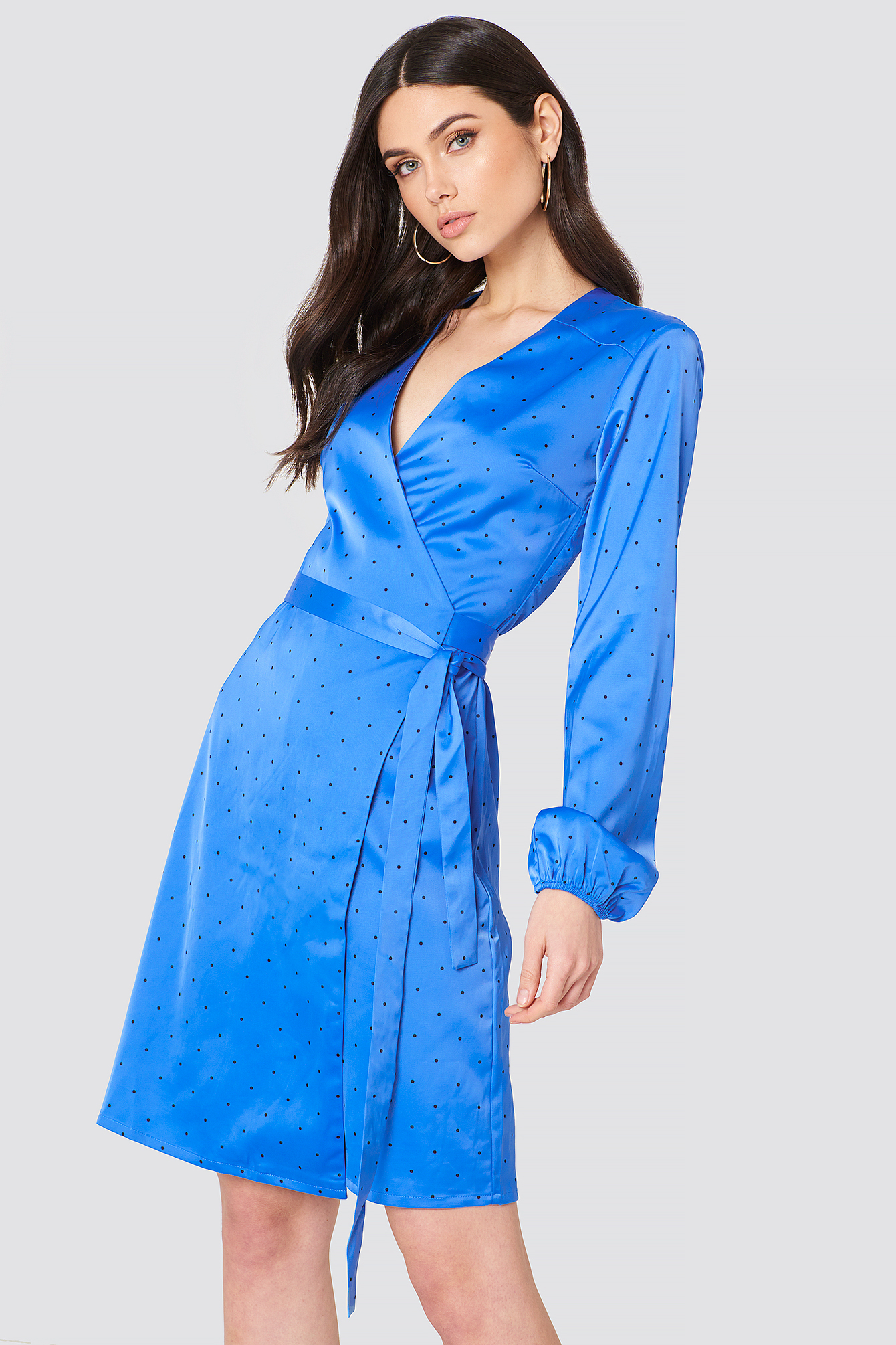 Ihara Wrap Dress NA-KD.COM