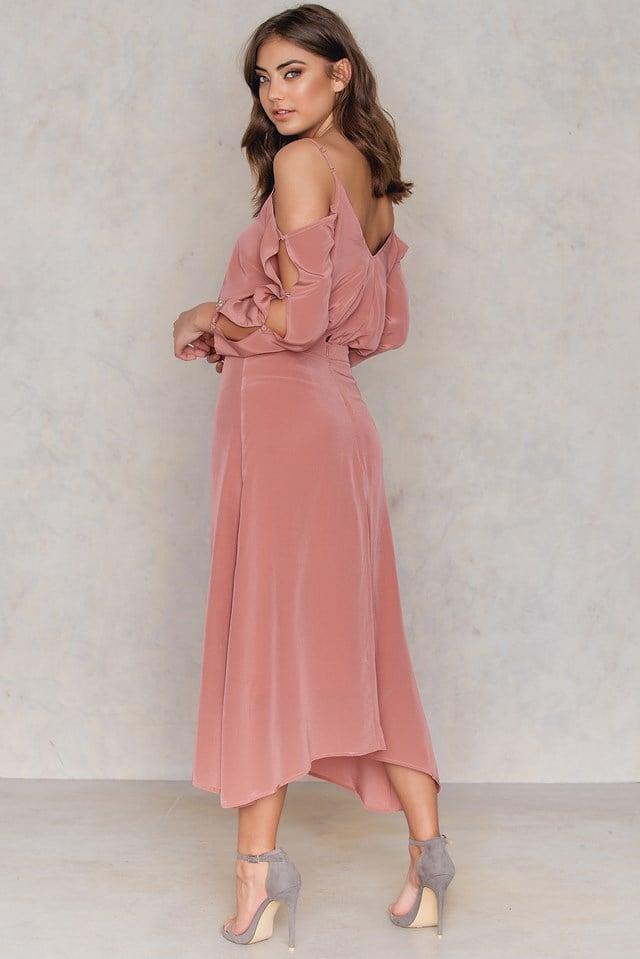 Jeannine Dress Canyon Rose