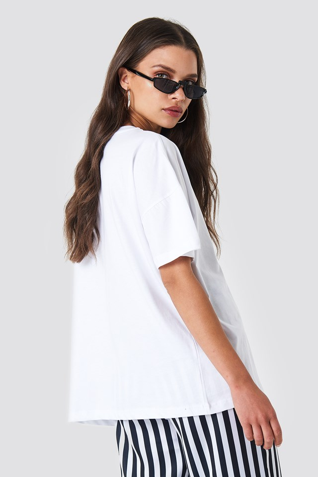 Marge Tee Bright White