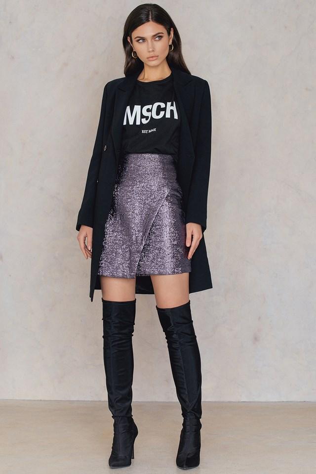 Naima Skirt Purple Haze