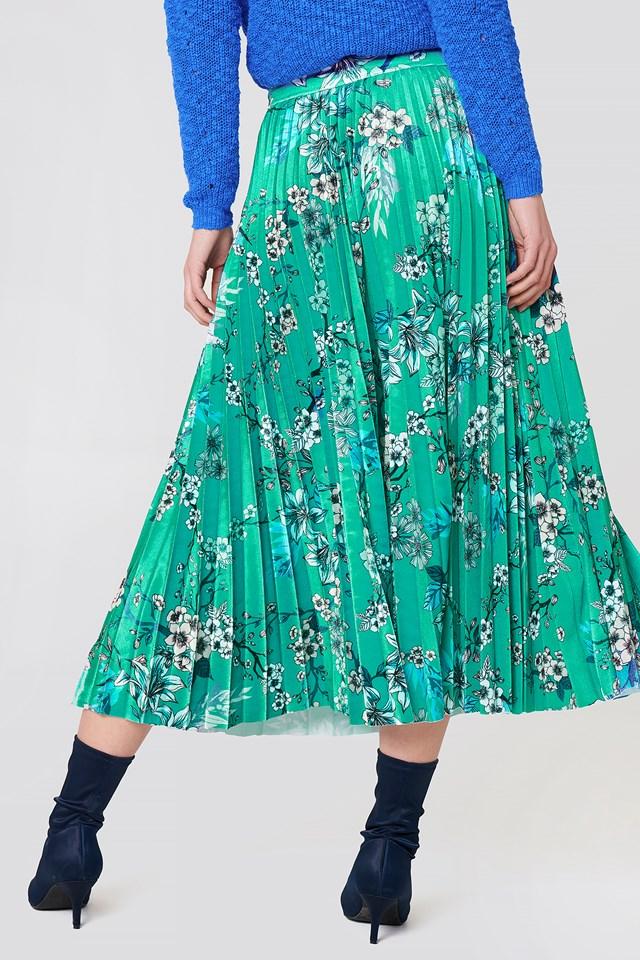 Ocean Skirt Ocean Flower