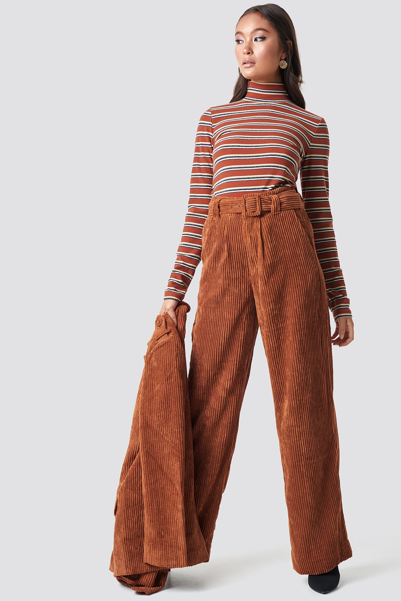 gestuz -  Roy Pants - Brown