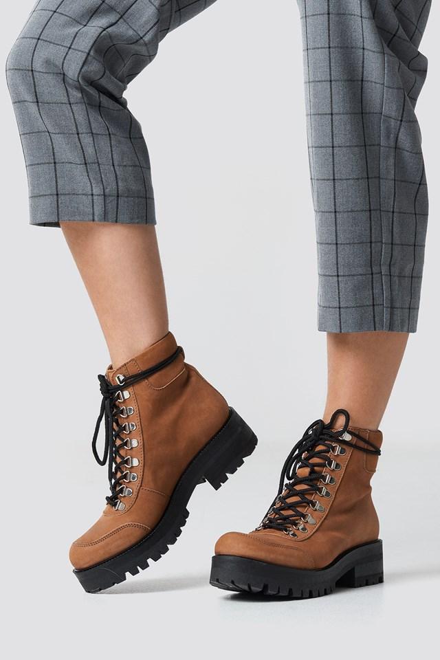 Sando Boots Caramel Caf