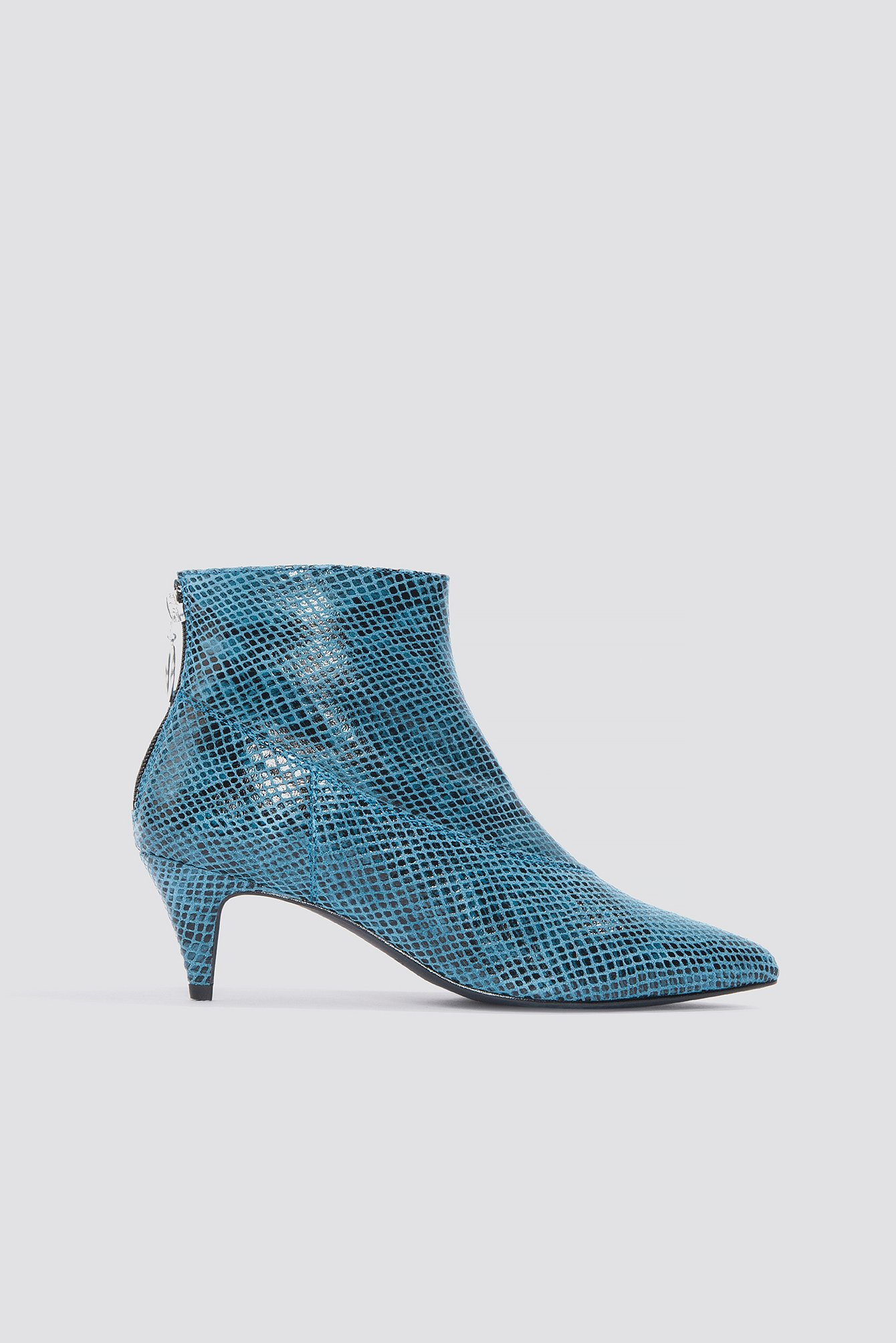 gestuz -  Sheba Snake Boots - Blue