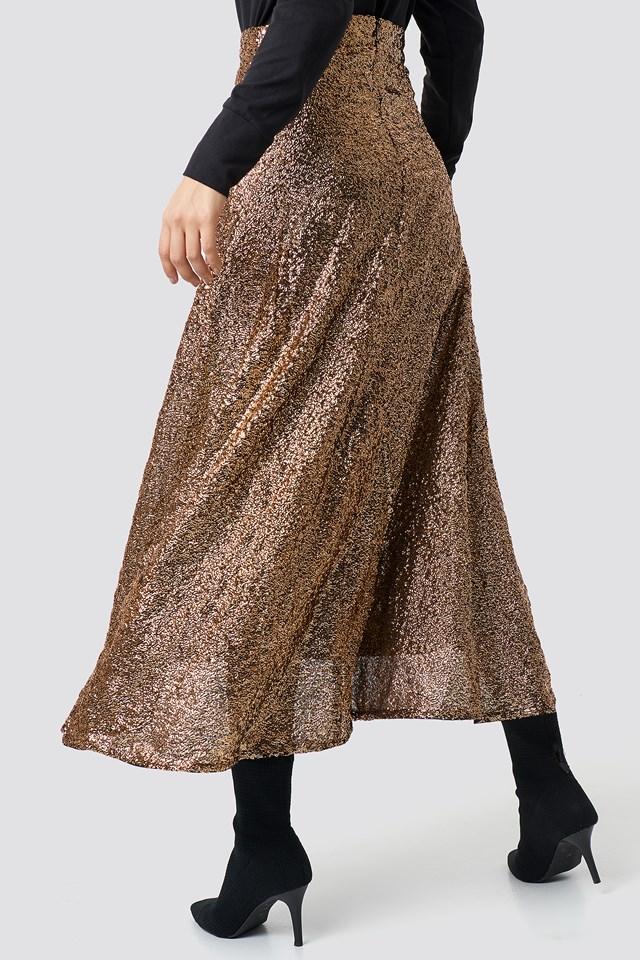 Tito Skirt Copper/Black