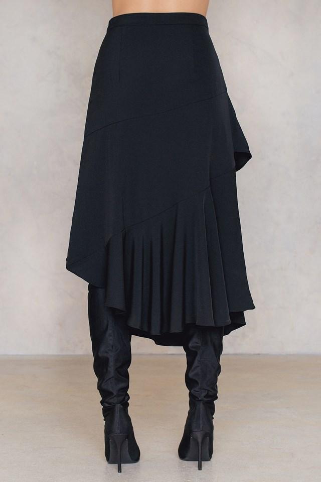Vermine Skirt Black