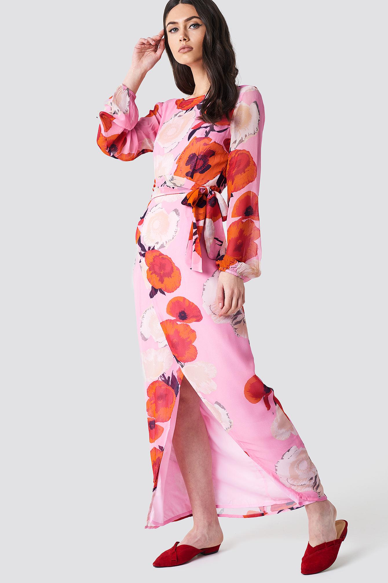 Violetta Long Dress NA-KD.COM
