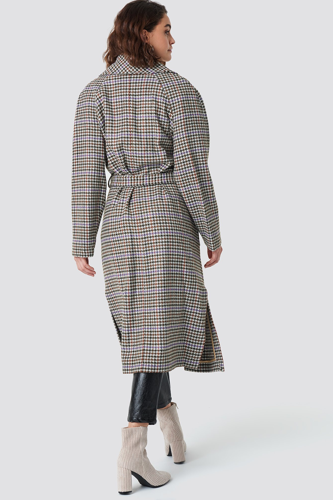 Welle Check Coat NA-KD.COM