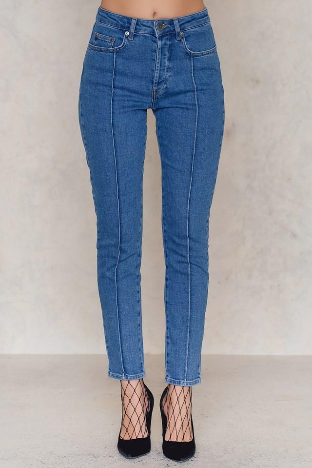 Cecily Jeans Medium Blue