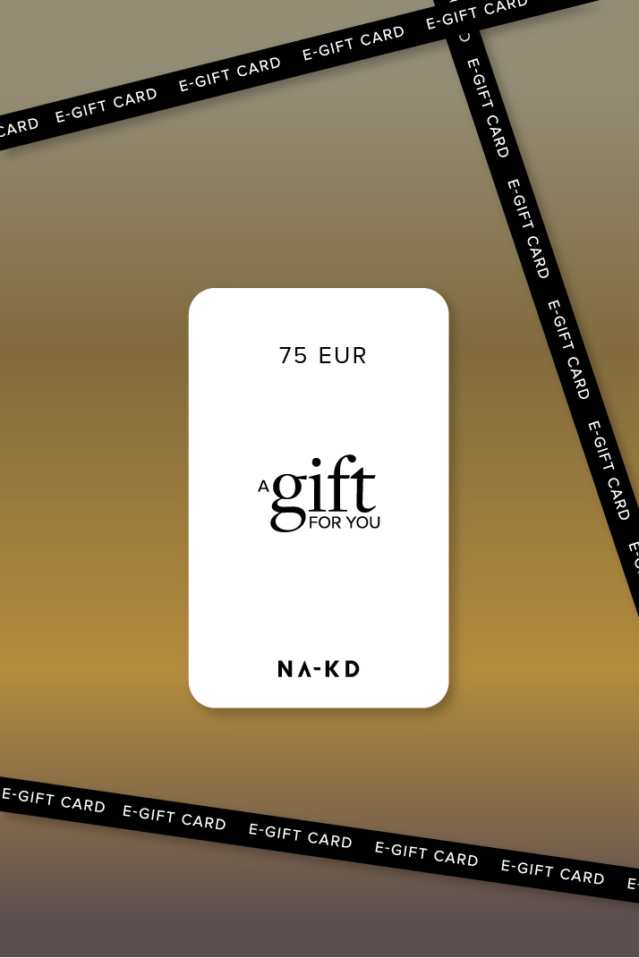 One gift. Endless fashion choices. 75 EUR