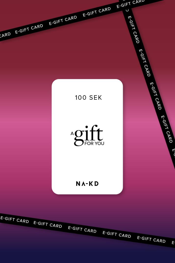 100 SEK En gåva. Oändligt mycket mode
