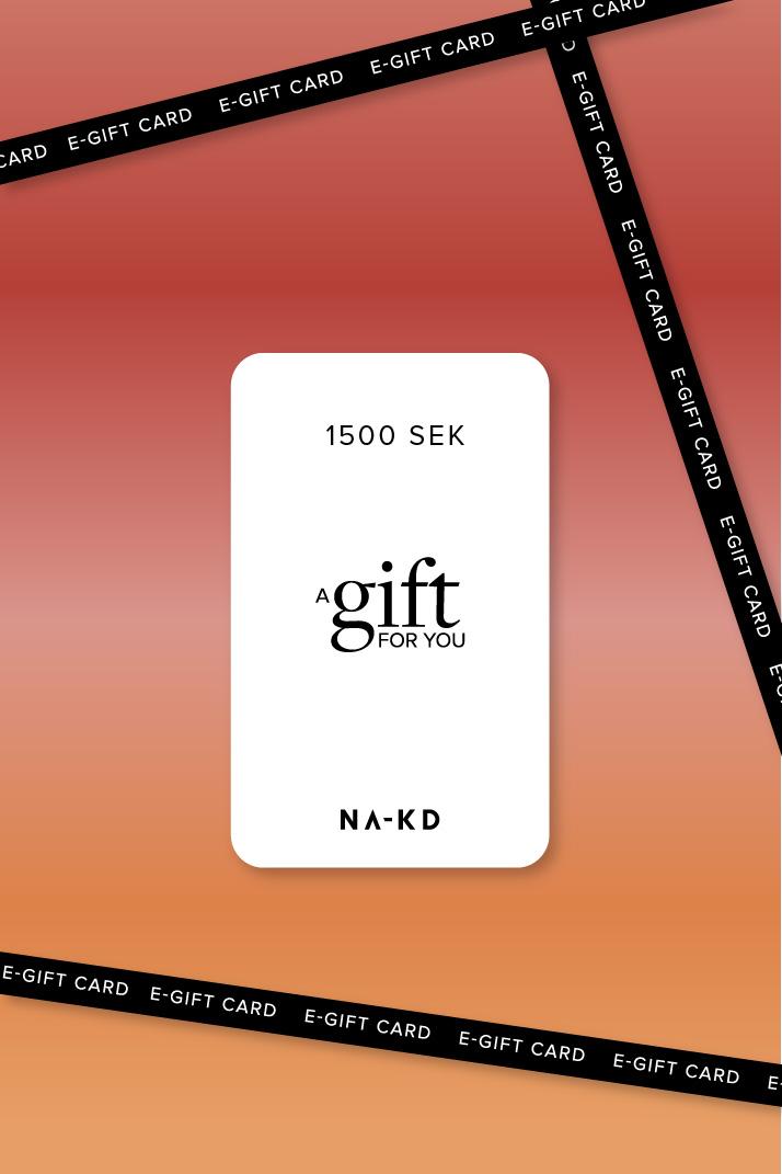 1500 SEK En gåva. Oändligt mycket mode