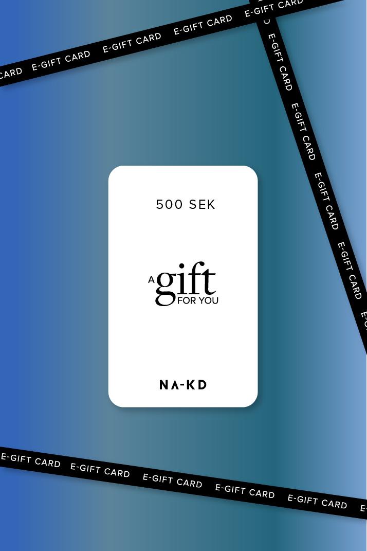 En gåva. Oändligt mycket mode 500 SEK