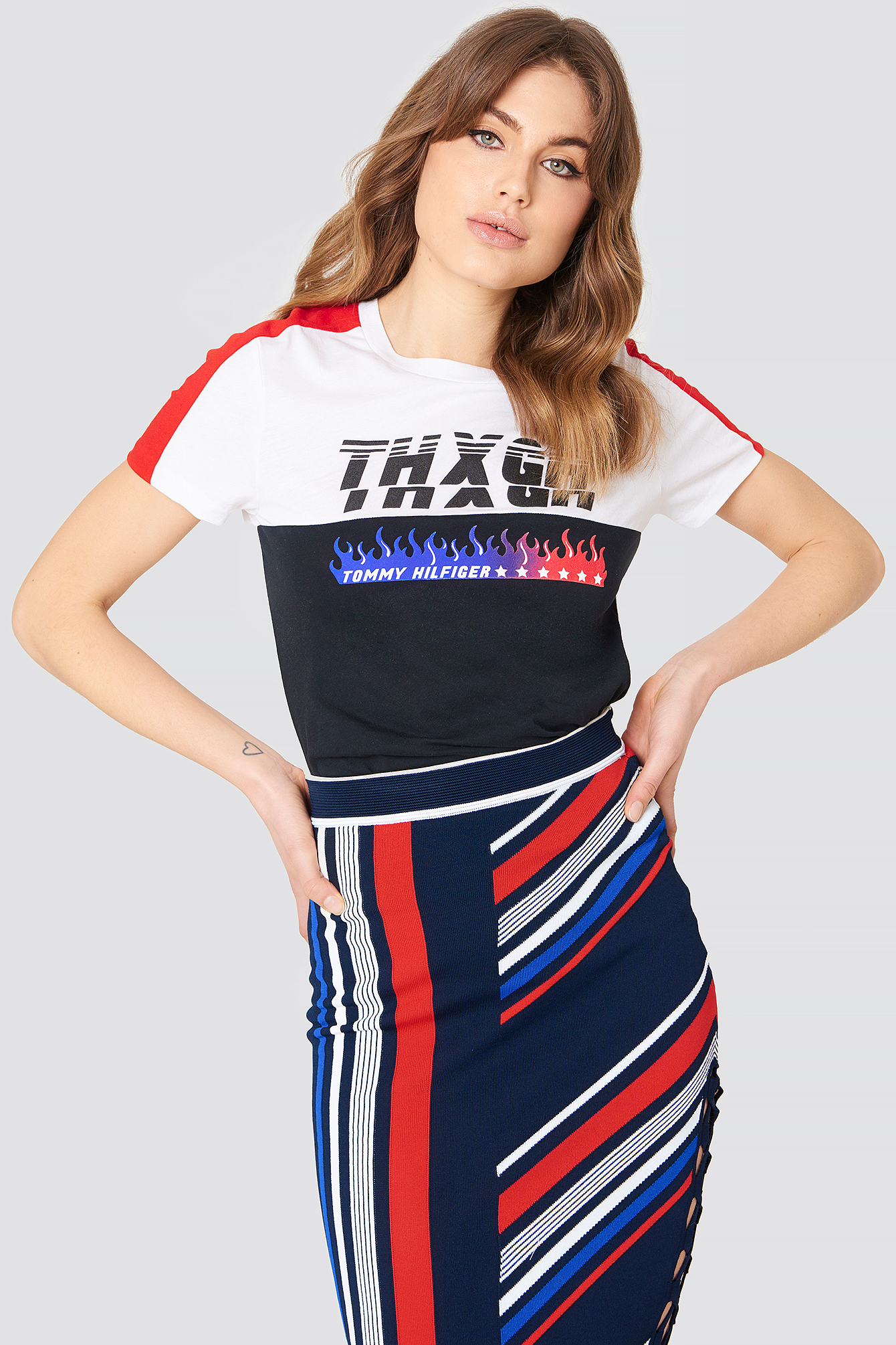 0fe2bc6115073 Tommy Hilfiger Gigi Hadid Speed Ss T-Shirt - Multicolor