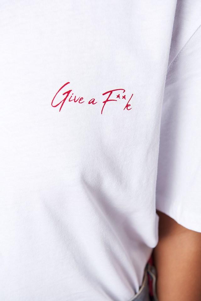 Give A F**k Unisex Oversize Tee NA-KD.COM