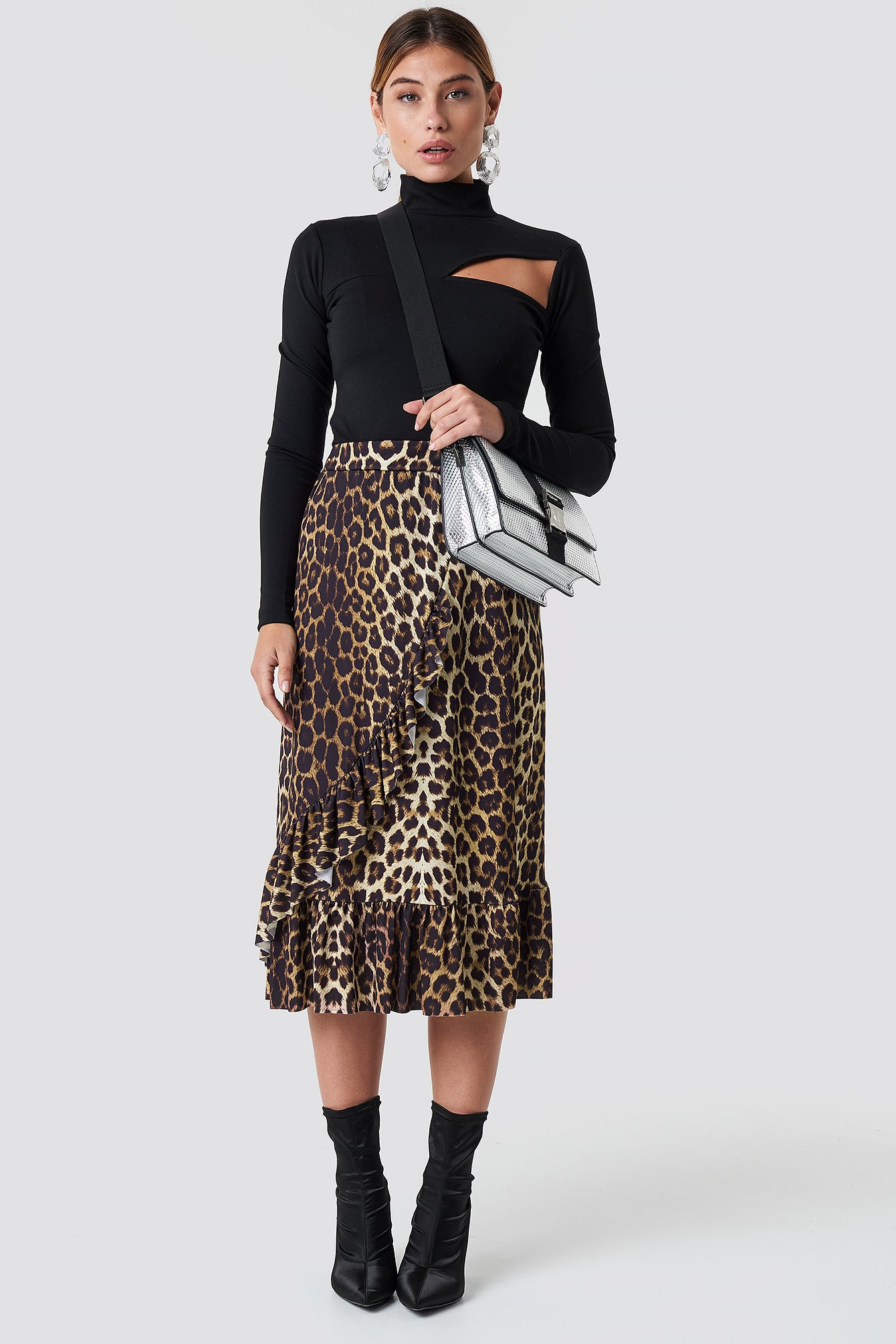 sisters point -  Givi Skirt - Brown