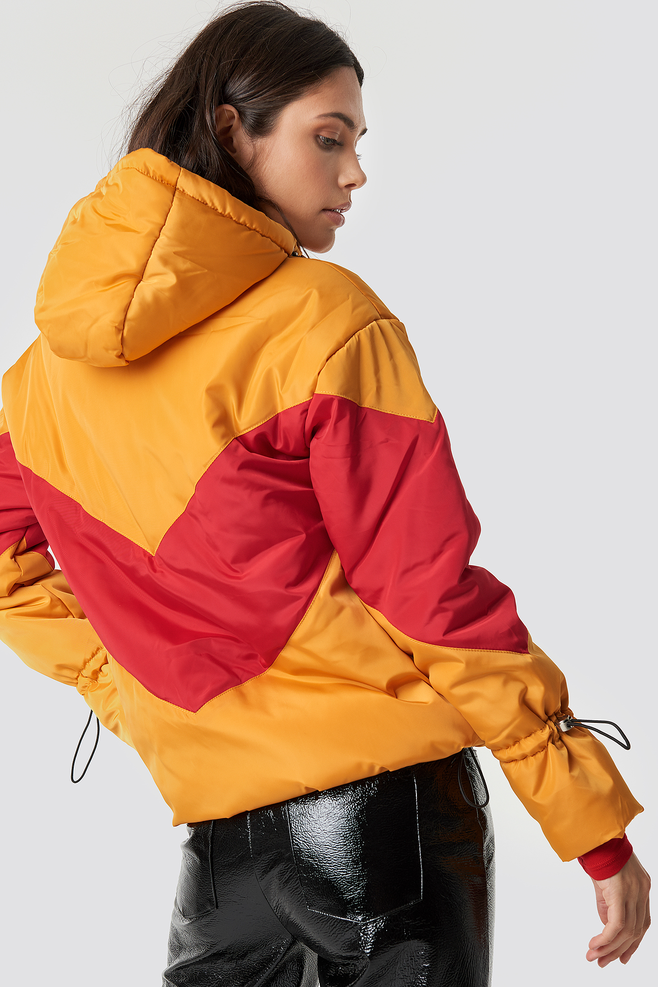 Blocked Padded Jacket NA-KD.COM