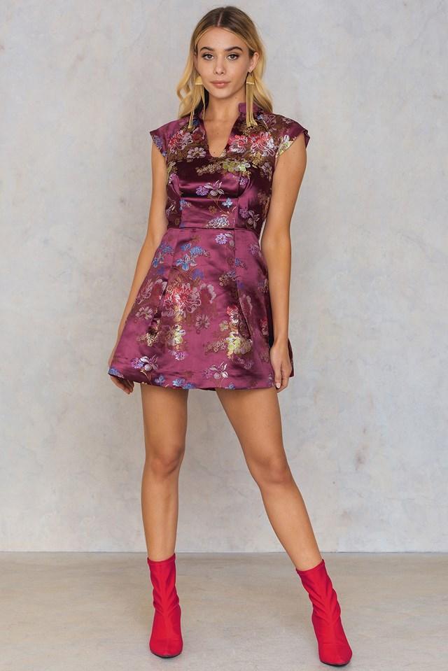 Brocade Short Dress NA-KD.COM