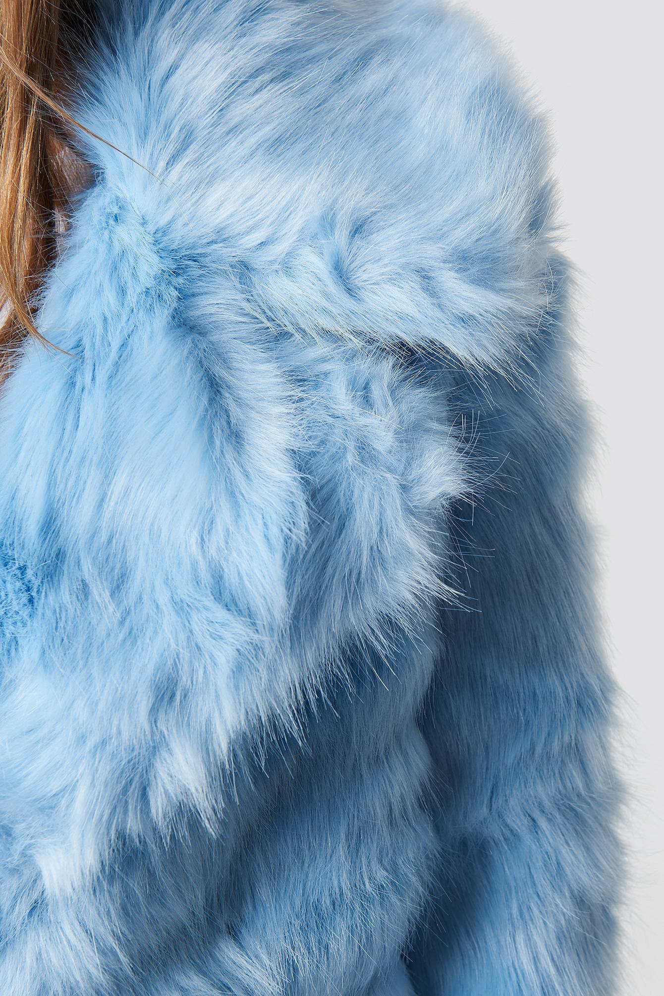 Płaszcz Fluffy NA-KD.COM