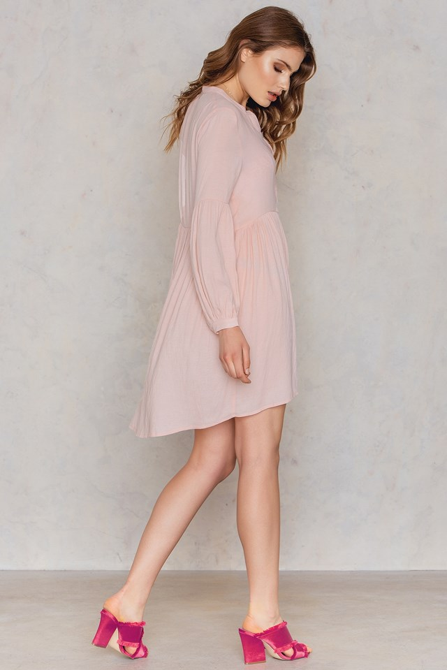 Frill Shirt Dress NA-KD.COM