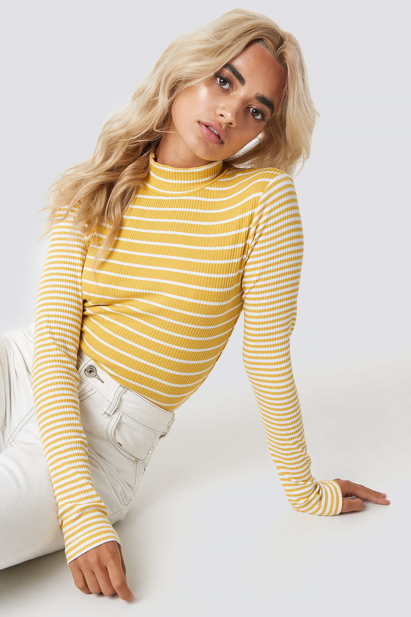 High Neck Top NA-KD.COM