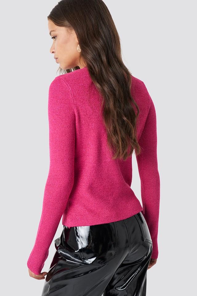 Knitted Glittery Jumper NA-KD.COM