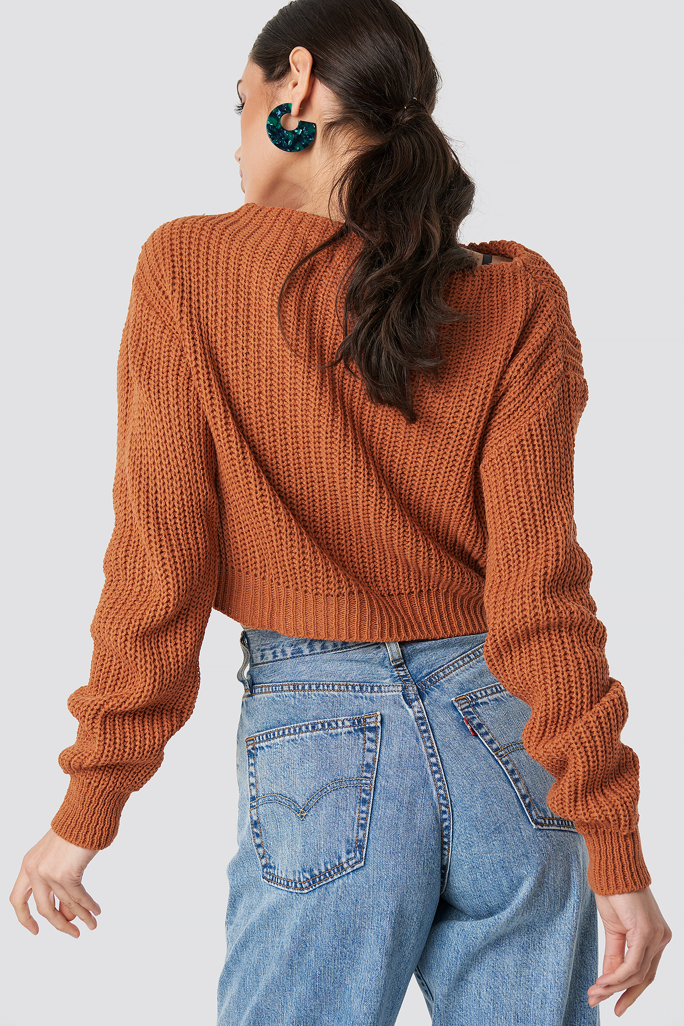 Knitted Sweater NA-KD.COM