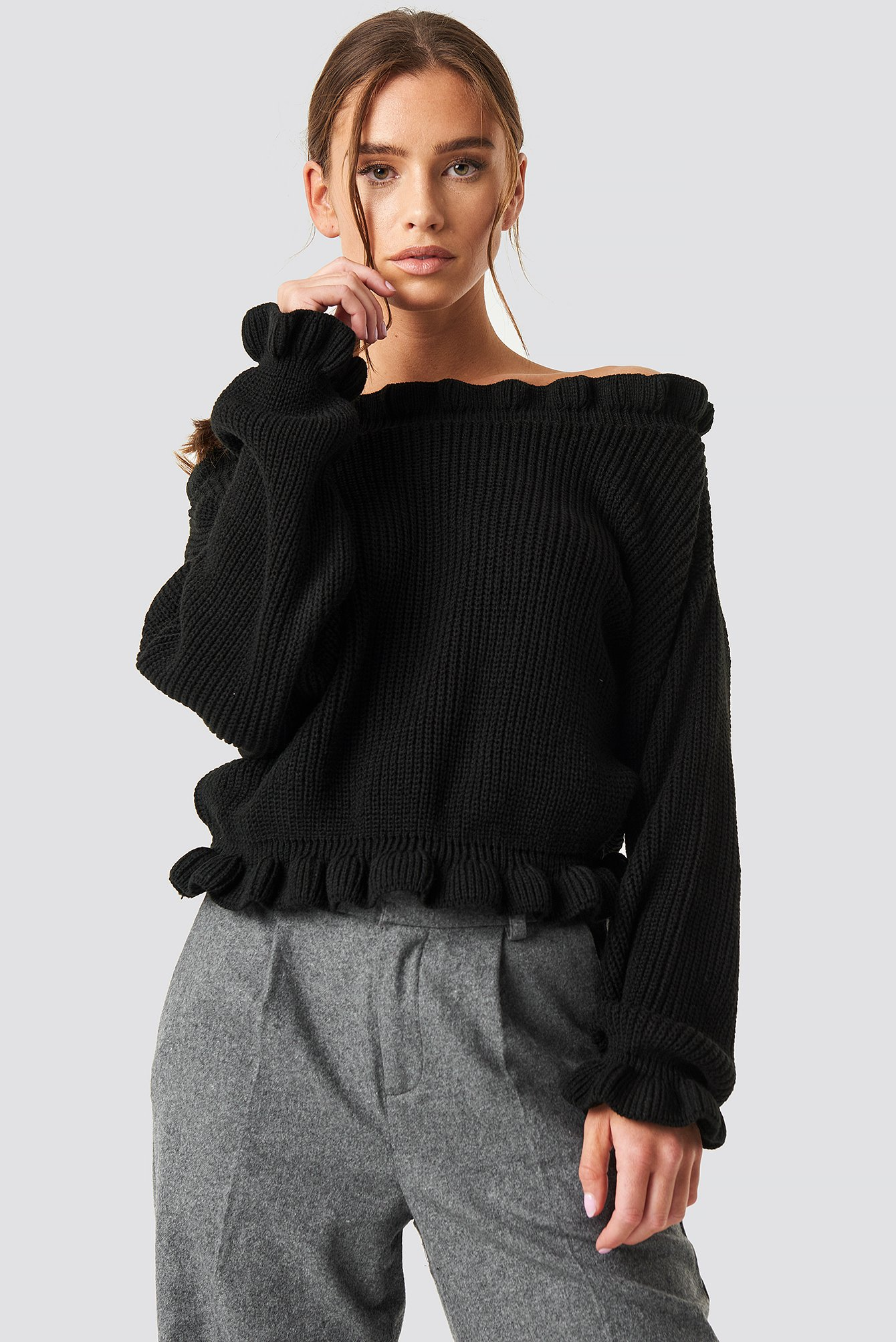 Off Shoulder Jumper NA-KD.COM