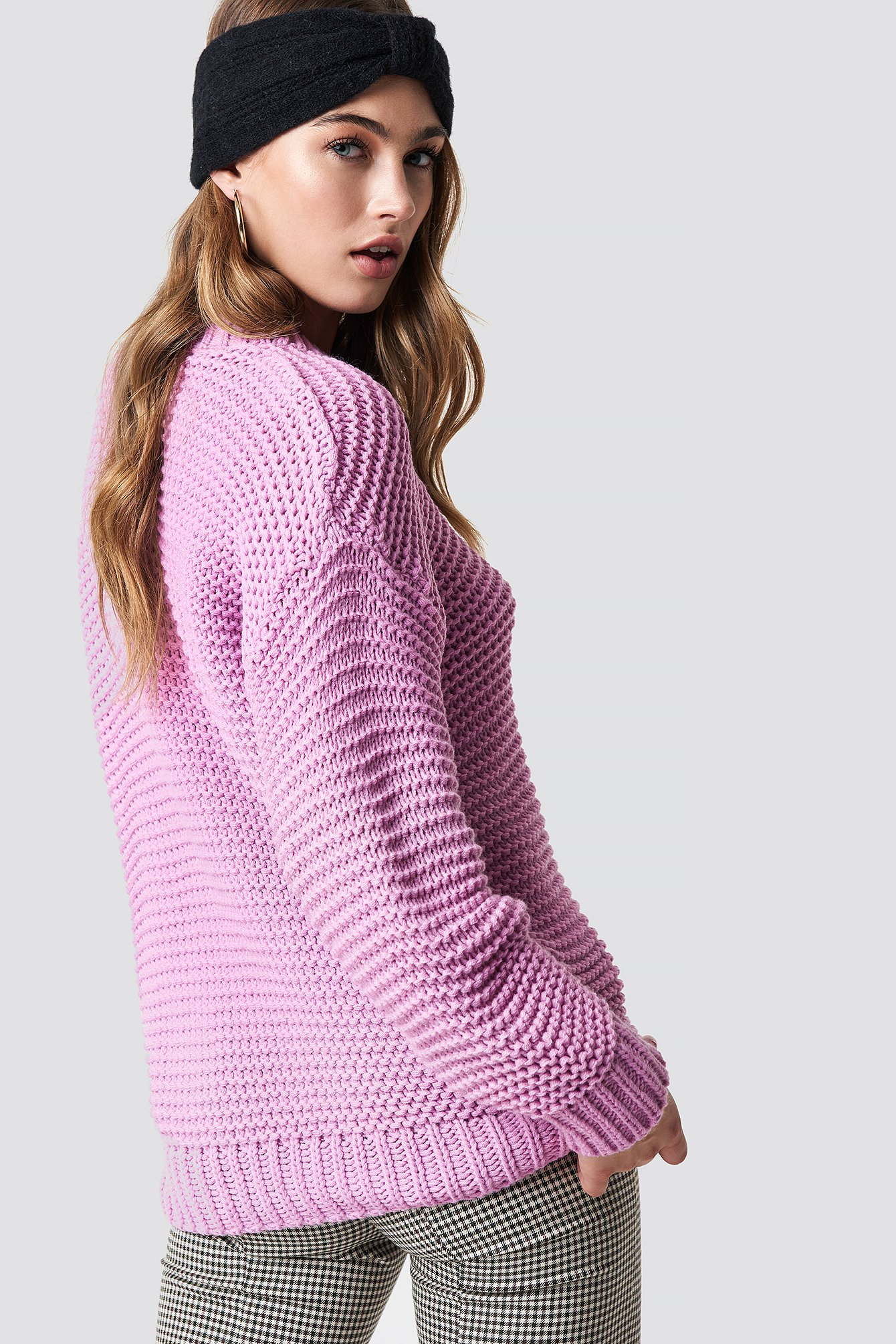 Oversized Knitted Jumper NA-KD.COM
