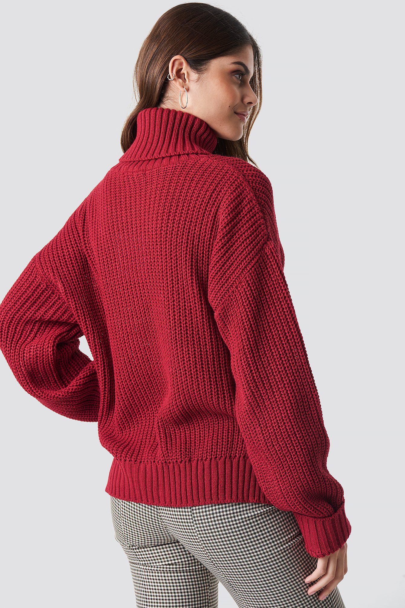 Polo Knitted Jumper NA-KD.COM