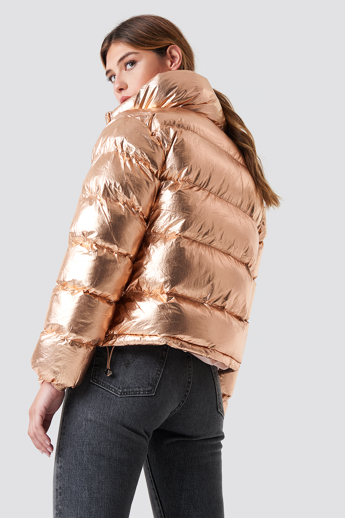Puffy Short Padded Jacket NA-KD.COM