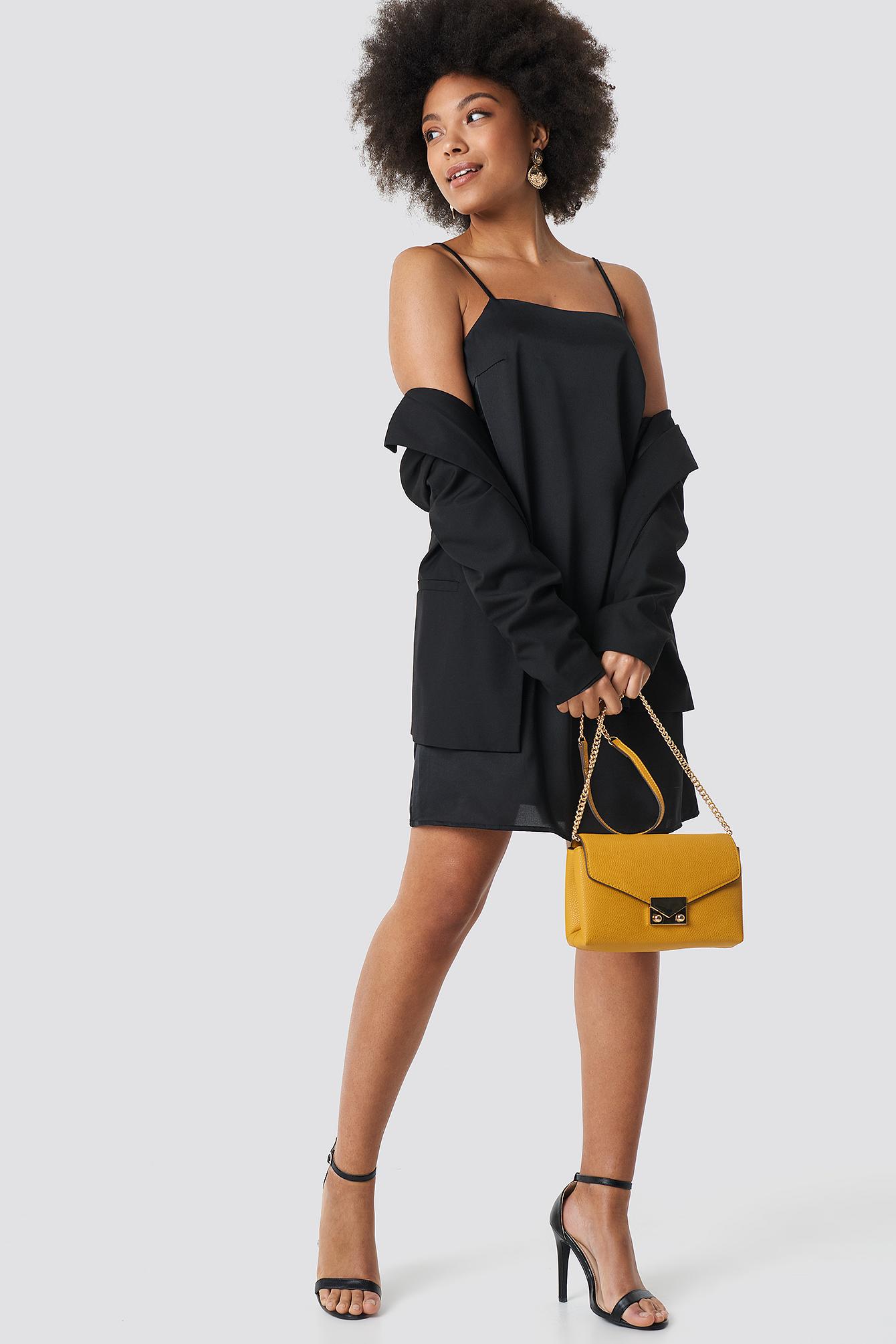 Strap Mini Dress NA-KD.COM