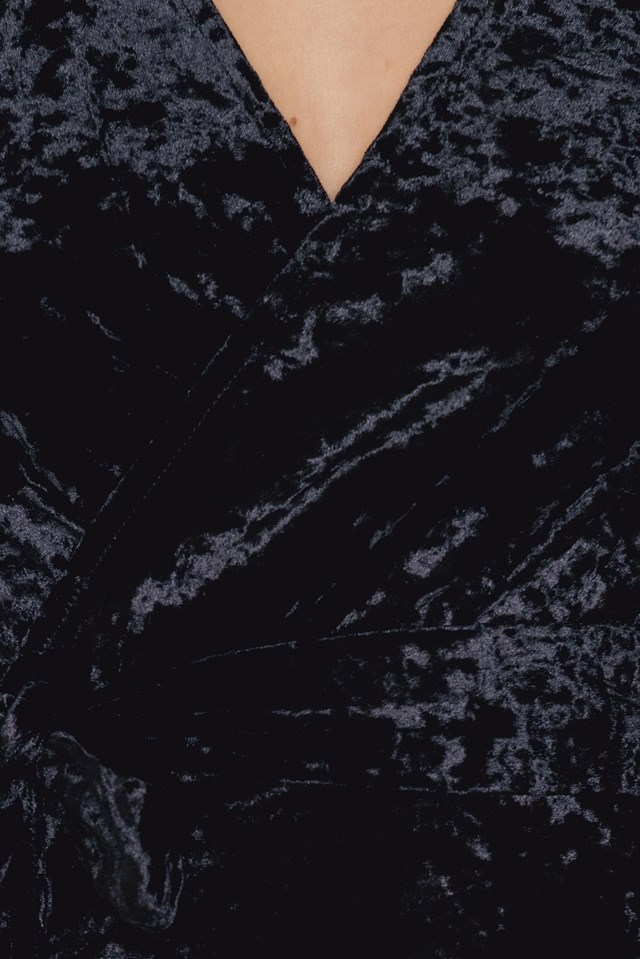 Tie Waist Open Back Maxi Dress NA-KD.COM